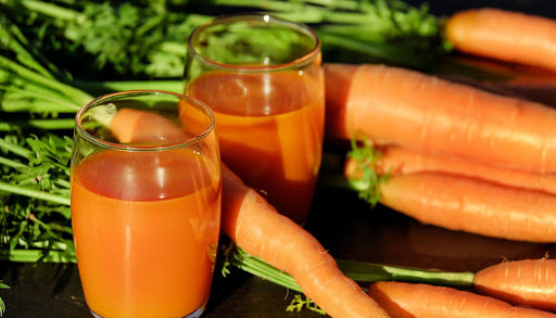 น้ำผัก แครอท