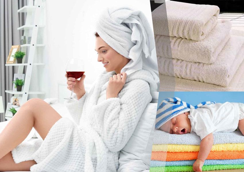 การทำความสะอาดผ้าเช็ดตัว ที่ควรเปลี่ยนผ้าเช็ดตัวสม่ำเสมอ