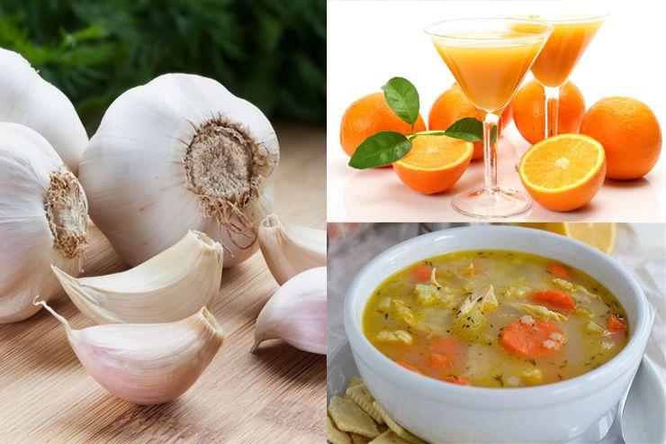 อาหารป้องกันโรคหวัด